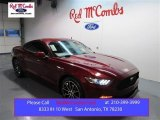 2015 Ruby Red Metallic Ford Mustang EcoBoost Coupe #99670032