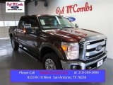 2015 Bronze Fire Ford F250 Super Duty Lariat Crew Cab 4x4 #99670030