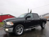 2012 Black Dodge Ram 1500 SLT Crew Cab 4x4 #99670229
