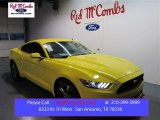 2015 Triple Yellow Tricoat Ford Mustang V6 Coupe #99670025