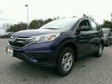 2015 Obsidian Blue Pearl Honda CR-V LX #99670628