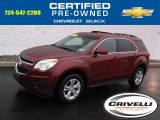 2010 Cardinal Red Metallic Chevrolet Equinox LT AWD #99670391
