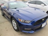 2015 Deep Impact Blue Metallic Ford Mustang V6 Coupe #99670047