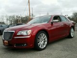 2012 Deep Cherry Red Crystal Pearl Chrysler 300 C #99669894