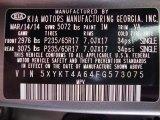 2015 Sorento Color Code for Titanium Silver - Color Code: VA