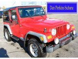 2006 Flame Red Jeep Wrangler Sport 4x4 #99669846