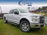 2015 Ingot Silver Metallic Ford F150 XLT SuperCrew 4x4 #99716326