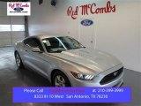 2015 Ingot Silver Metallic Ford Mustang V6 Coupe #99716297