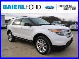 2014 White Platinum Ford Explorer XLT 4WD #99736361