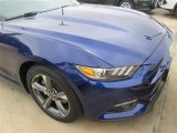 2015 Deep Impact Blue Metallic Ford Mustang V6 Coupe #99736403