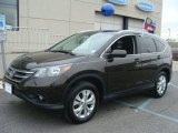 2013 Kona Coffee Metallic Honda CR-V EX-L AWD #99736733