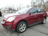 2010 Cardinal Red Metallic Chevrolet Equinox LS #99736513