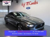 2015 Magnetic Metallic Ford Mustang V6 Coupe #99736387