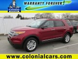2014 Ruby Red Ford Explorer XLT 4WD #99736677