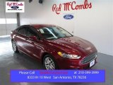 2015 Ruby Red Metallic Ford Fusion SE #99736386