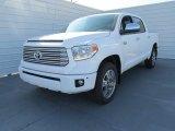2015 Toyota Tundra Platinum CrewMax Front 3/4 View