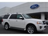 2015 White Platinum Metallic Tri-Coat Ford Expedition Limited #99736488