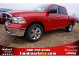 2015 Flame Red Ram 1500 Big Horn Crew Cab #99736475