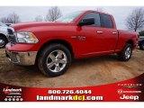 2015 Flame Red Ram 1500 Big Horn Quad Cab #99736474