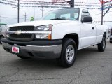 2004 Summit White Chevrolet Silverado 1500 Regular Cab 4x4 #9967367