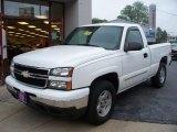 2006 Summit White Chevrolet Silverado 1500 LT Regular Cab 4x4 #9971424