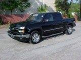 2006 Black Chevrolet Silverado 1500 Z71 Crew Cab 4x4 #9971990