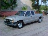 2006 Silver Birch Metallic Chevrolet Silverado 1500 LS Extended Cab #9971988