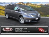 2015 Predawn Gray Mica Toyota Sienna Limited AWD #99764713