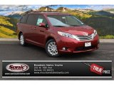 2015 Salsa Red Pearl Toyota Sienna Limited AWD #99764712