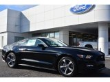 2015 Black Ford Mustang EcoBoost Premium Coupe #99764923