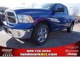 2015 Blue Streak Pearl Ram 1500 Big Horn Quad Cab #99764910