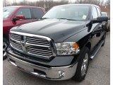 2015 Black Ram 1500 SLT Quad Cab 4x4 #99765034