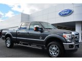 2015 Magnetic Ford F250 Super Duty Lariat Crew Cab 4x4 #99796399