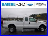 2015 Oxford White Ford F250 Super Duty XL Super Cab 4x4 #99796284