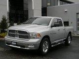 2011 Bright Silver Metallic Dodge Ram 1500 SLT Quad Cab 4x4 #99796479