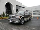 2011 Rugged Brown Pearl Dodge Ram 1500 Laramie Crew Cab 4x4 #99796478