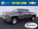2015 Brownstone Metallic Chevrolet Silverado 1500 LT Crew Cab 4x4 #99796529