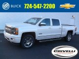 2015 White Diamond Tricoat Chevrolet Silverado 1500 High Country Crew Cab 4x4 #99796527