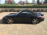 2008 Basalt Black Metallic Porsche 911 Turbo Cabriolet #99826165