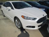 2015 Ford Fusion Hybrid Titanium Front 3/4 View