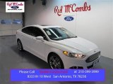 2015 Oxford White Ford Fusion Titanium #99825691