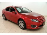 2011 Red Candy Metallic Ford Fusion SE V6 #99826079