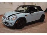 2014 Ice Blue Mini Cooper Convertible #99825671
