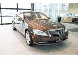 2013 designo Mystic Brown Mercedes-Benz S 550 4Matic Sedan #99825973