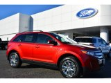 2014 Ruby Red Ford Edge SEL #99862743