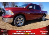 2015 Deep Cherry Red Crystal Pearl Ram 1500 Big Horn Crew Cab #99862739