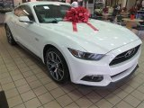2015 50th Anniversary Wimbledon White Ford Mustang 50th Anniversary GT Coupe #99862644