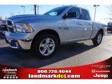 2015 Bright Silver Metallic Ram 1500 Big Horn Quad Cab #99862736
