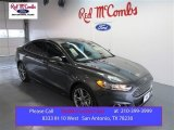 2015 Magnetic Metallic Ford Fusion Titanium #99862638
