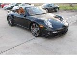 2008 Black Porsche 911 Turbo Cabriolet #99862959